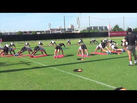 Activación (zona media, movilidad articular y bandas)