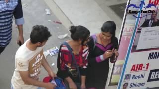 Beggar Giving Money Strangers Prank   Danger Fun Club   Pranks in India 2017