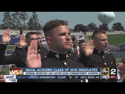 2016 Naval Academy Commissioning