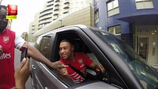 Arsenal Players Arriving For The North London Derby