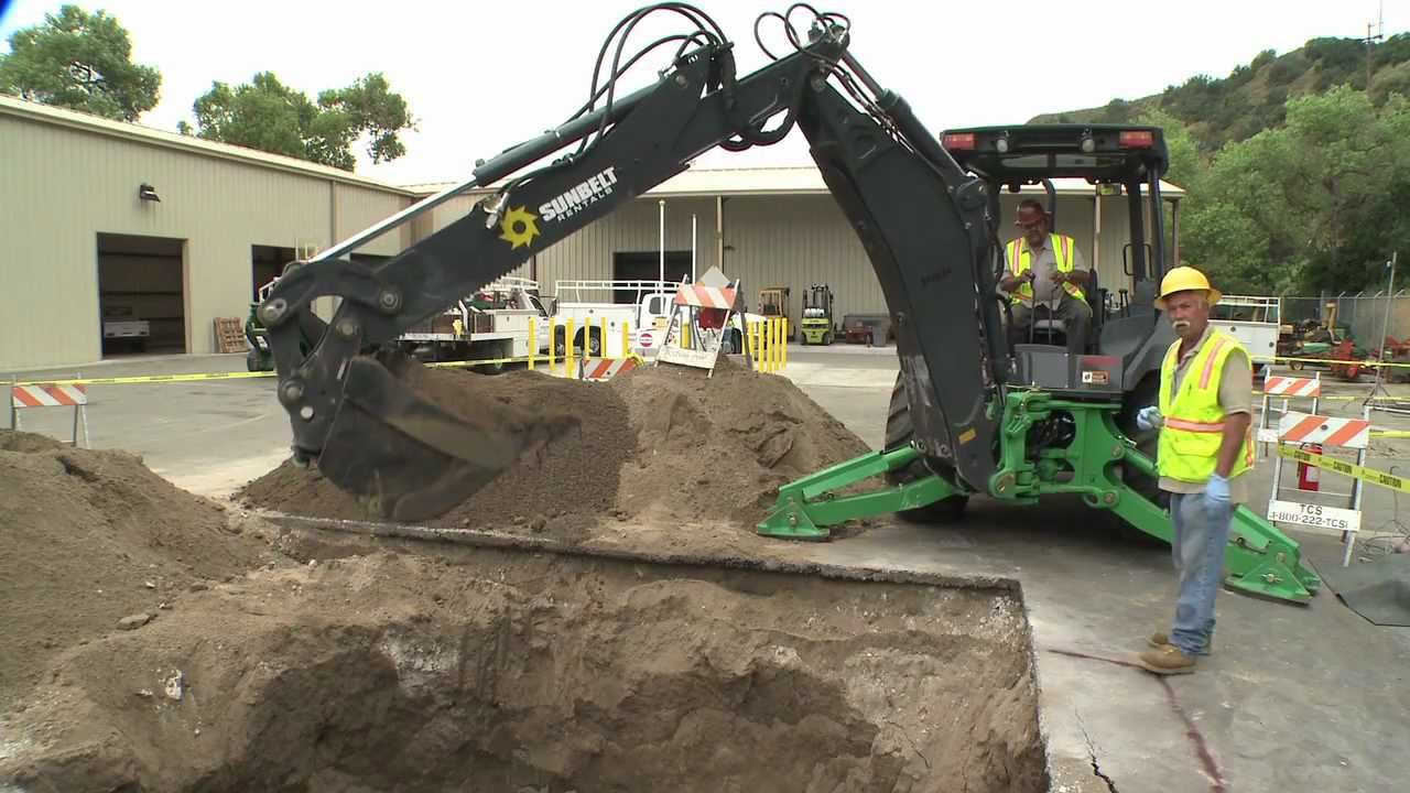 Storage Tank Demolition : Underground storage tank removal youtube