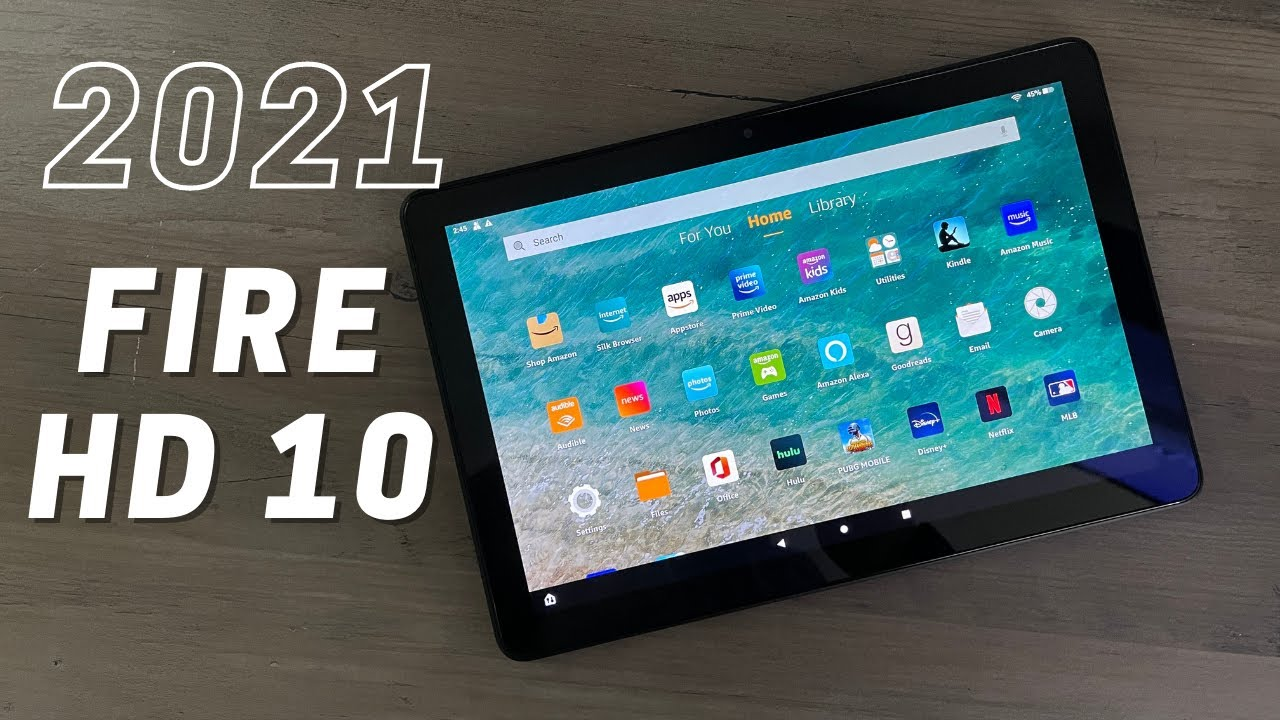 2021 Amazon Fire HD 10 11th Gen Unboxing & Initial Review - YouTube