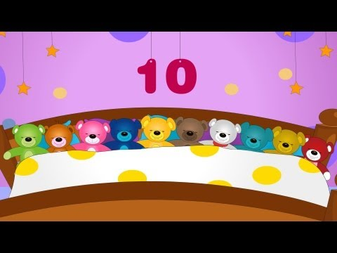 Ten in the bed | Ten in bed | Nursery rhyme