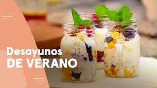 Recetas: Jugo de frutas y ensalada de frutas con yogurt | Ximena en Casa