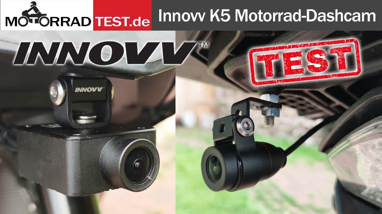 INNOVV K5   Test (deutsch) der innovativen 4K Dashcam für Motorräder