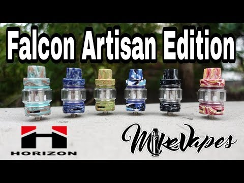 Horizon Tech Falcon Resin Artisan Edition Featuring New Triple Mesh Coil - Mike Vapes