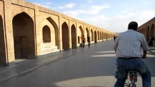 Ispahan   Isfahan   Esfahān   اصفها   Most Beautiful Bridge in The World   Travel to Iran 2012