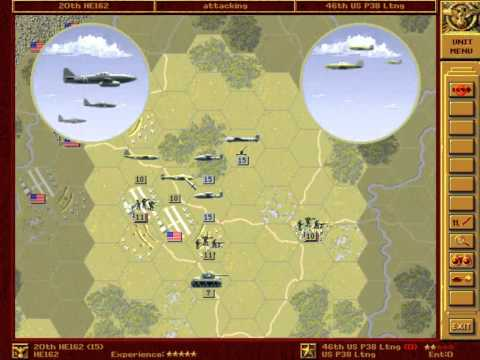 Let's Play - Panzer General - Part 060 - Washington (alternative) - 002 - by MrKritik77
