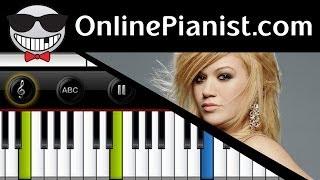 Kelly Clarkson - Breakaway (The Princess Diaries 2) - Piano Tutorial & Sheet (Easy)