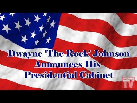 Dwayne 'The Rock' Johnson Announces His Presidential Cabinet
