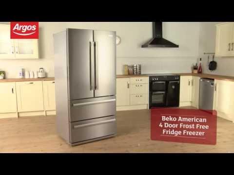 Beko GNE60020X American 4 Door Frost Free Fridge Freezer Review