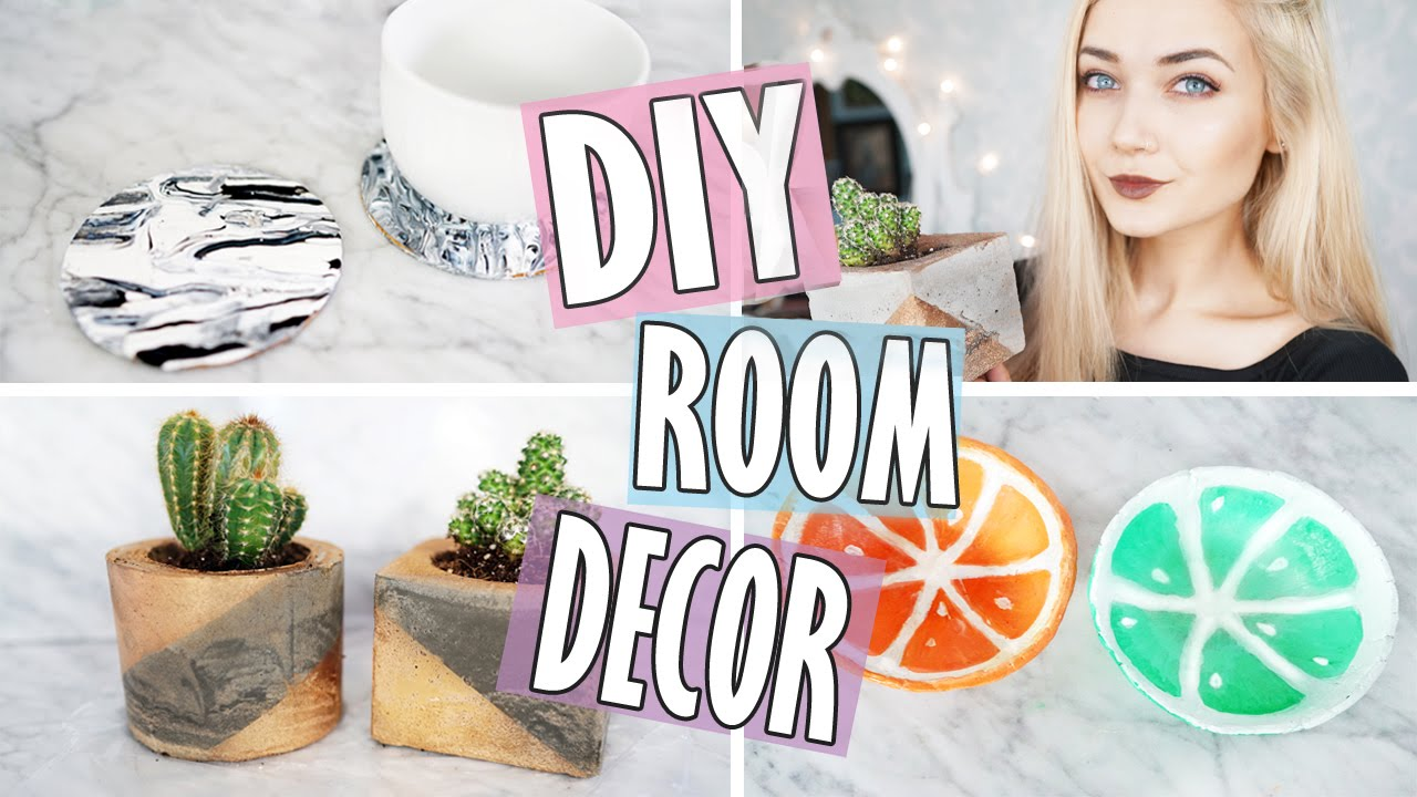 DIY Room Decor Tumblr Inspired Easy Affordable YouTube