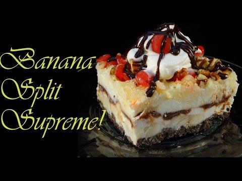 Banana Split Supreme Frozen Treat - with yoyomax12