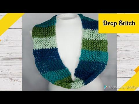 Addi Dop Stitch Infinity Scarf - Addi Express Scarf