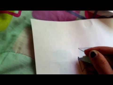 How to make a stencil with normal printer paper ( no special kind of paper)