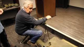 World War II hand crank generator for radio equipment