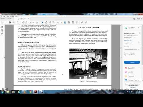 DIESEL ENIGNE MECHANICAL SERVICE MANUAL DIESEL ELECTRIC LOCOMOTIVE GE PART2