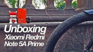 Unboxing XIaomi Note 5A Prime en México