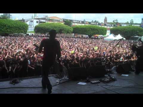 Sevendust Rumble Fish In Brisbane Soundwave 2011