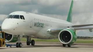 E190-E2 to Widere Delivery Celebration