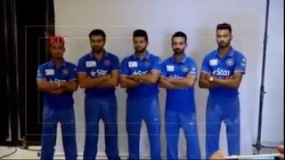 Repeat youtube video Team India having fun at the photo shoot ahead of Asia cup with Bangladesh full video2016