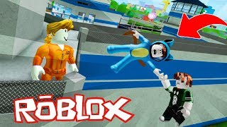 WE ESCAPE THE MOST DIFFERENT PRISION!! BEST MADCITY ROBLOX LADRONES 💙💚💛 BE BE BE BE BE BE BE A VITA AND ADRI 😍
