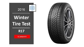 TOP 10 Best winter tires R17 2016