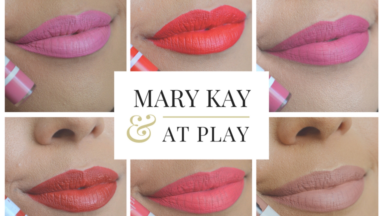 Populares Resenha: Batons líquidos Matte Mary Kay at Play - YouTube CW86