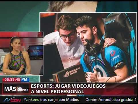 ESPORTS: Jugar videojuegos a nivel profesional