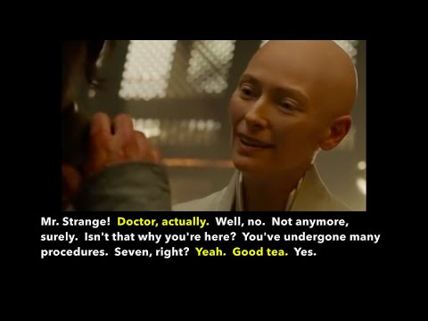 Learn/Practice English with MOVIES (Lesson #91) Title: Doctor Strange