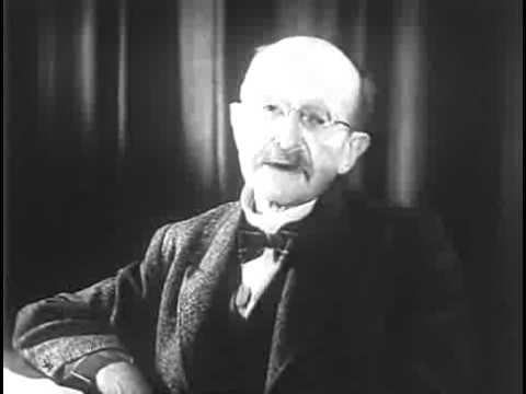 Max Planck - Selbstdarstellung im Filmportrait (1942)
