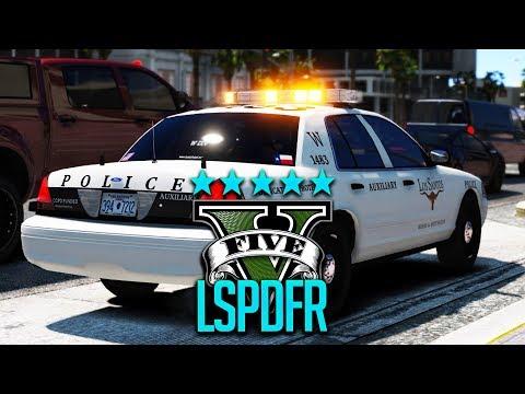 Wir arbeiten bei der Polizei | GTA 5 Real Life (LSPDFR Polizei Mod)
