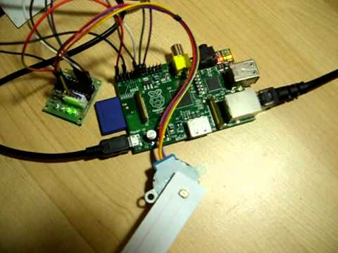 Control stepper motor speed up through the gpio on for Raspberry pi motor speed control