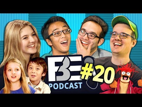 Download Youtube: FBE PODCAST | Kids React, Don't Hug Me, Muppets (Ep #20)
