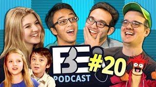 FBE PODCAST | Kids React, Don't Hug Me, Muppets (Ep #20) thumbnail