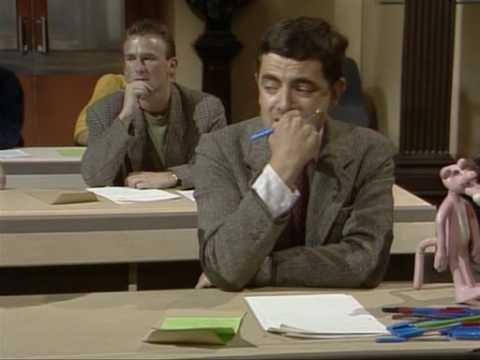 Mister Bean la examen