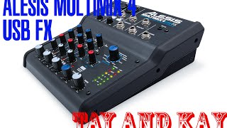 Alesis Multimix 4 USB FX USB Mixer - Unboxing and Overview (Review)