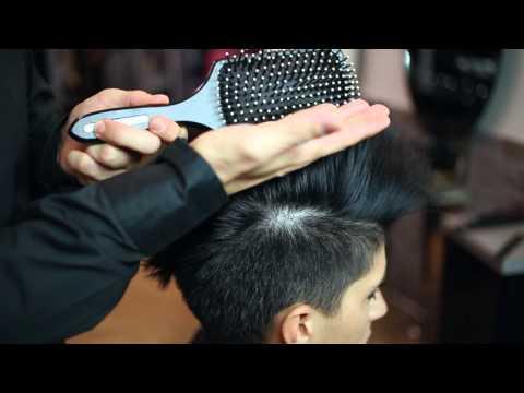 Come fare la cresta con i capelli corti!