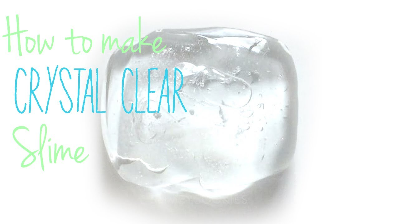 How to make clear jiggly slime youtube how to make clear jiggly slime ccuart Choice Image
