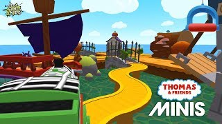 Thomas & Friends Minis #224 | THE PIRATE FORT Mission! By Budge Studios