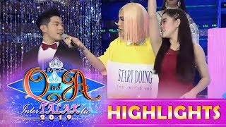 It's Showtime Miss Q and A: Jackque teaches Ion the 'Pauwi Na Ako' challenge on It's Showtime