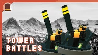 ROBLOX|Tower Battles|Tower Gameplays-Mortar (SUPER OP)