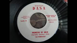 PROMESAS DE AMOR.- PASILLO.-  LAS PRIMAVERAS.- AUDIO ORIGINAL DE DISCO DE VINYL