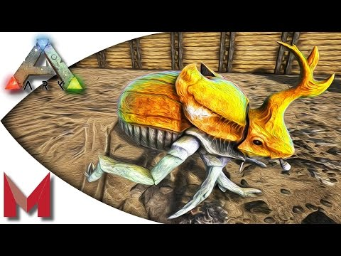 ARK: Survival Evolved - Taming a Dung Beetle or Two! S3E30 Gameplay
