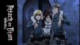 Attack on Titan Season 3 - Official Clip - A New Titan