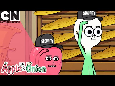 Apple and Onion   The Music Store   Cartoon Network UK 🇬🇧