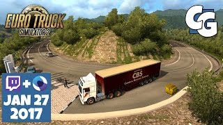 Euro Truck Simulator 2 - VOD - 2017-01-27- Southern Region - Zigzags - ETS2 Southern Region Gameplay