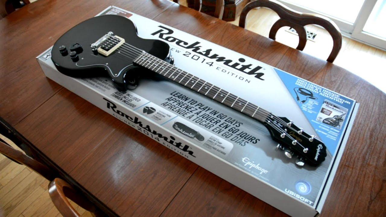 2014 Rocksmith Bundle Epiphone Les Paul Junior Guitar
