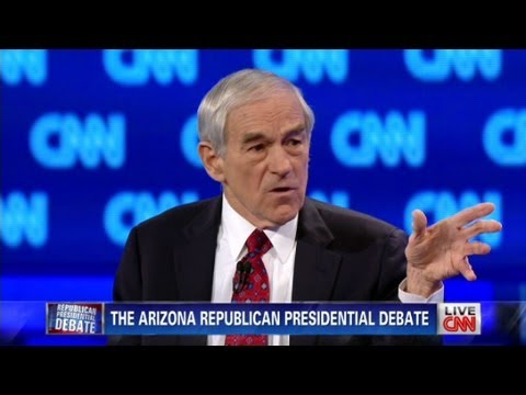 Ron Paul At CNN Arizona Debate: 'Talk Of Aggression Toward Iran Harmful'