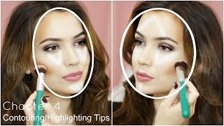 Contouring + Highlighting Tips For Your Face-shape | Chapter 4